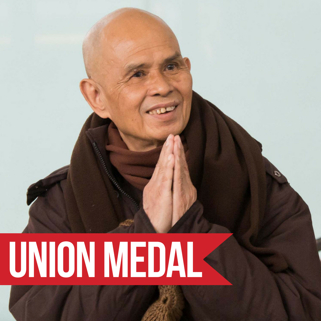 Union Medal Ceremony Honoring Thich Nhat Hanh '63 @ Union Theological Seminary | New York | New York | United States