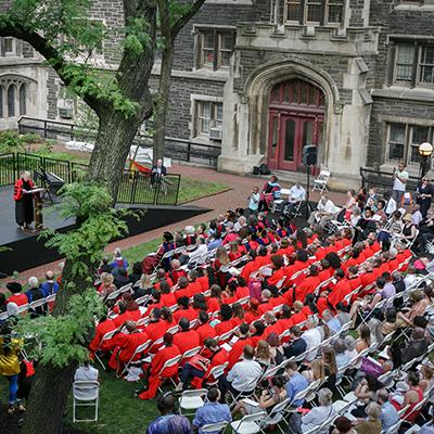 Union Celebrates Commencement Class of 2018 @ Union Theological Seminary, Quad (Rain: James Chapel)   New York   New York   United States