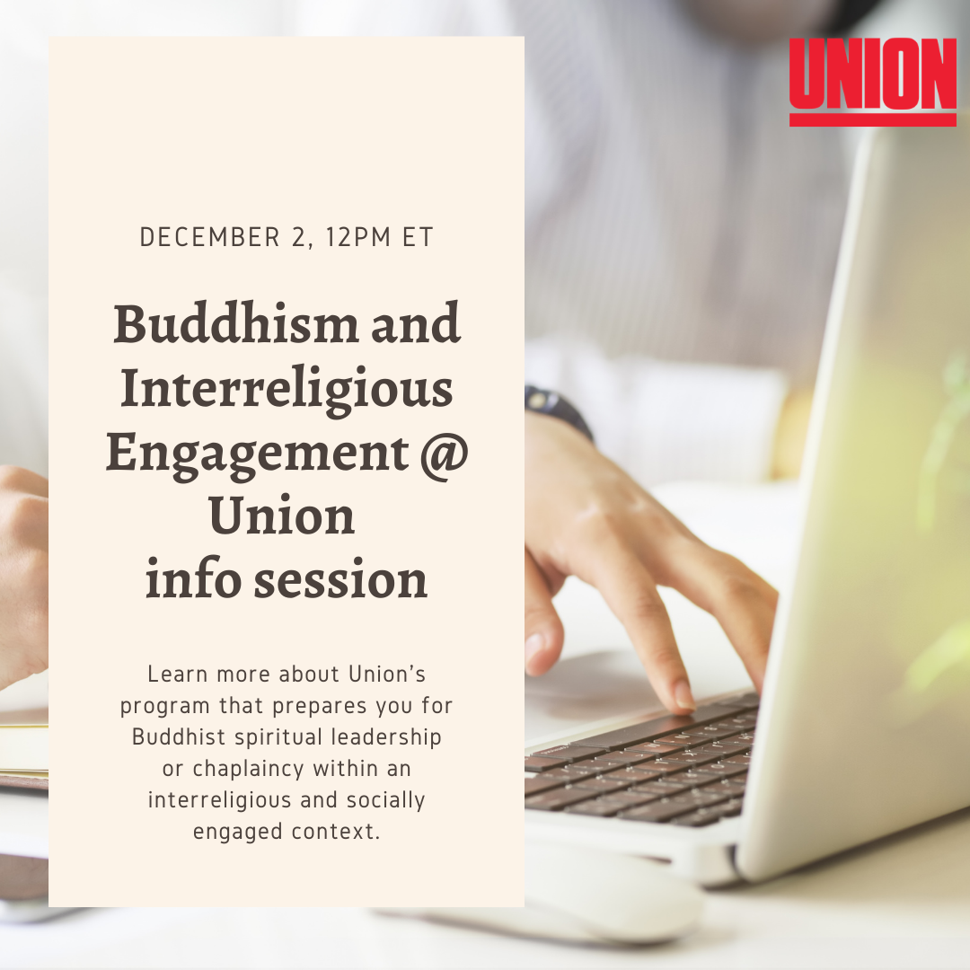 Information Session: Buddhism and Interreligious Engagement