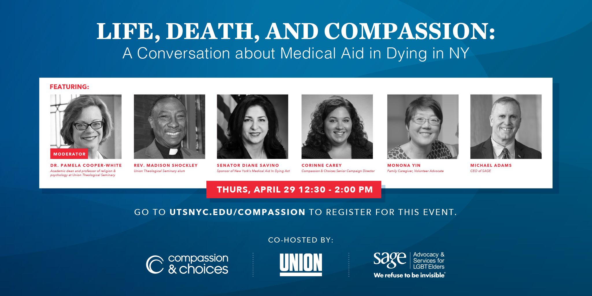 Life, Death, and Compassion: A Conversation about Medical Aid in Dying in New York @ Zoom Webinar