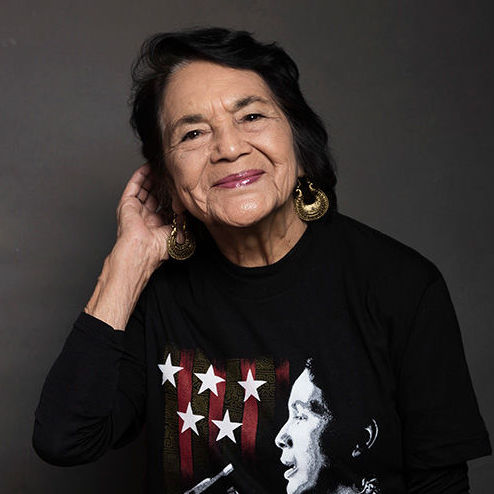 Eighth Annual Judith Davidson Moyers Women of Spirit Lecture with Dolores Huerta @ Union Theological Seminary, James Chapel | New York | New York | United States