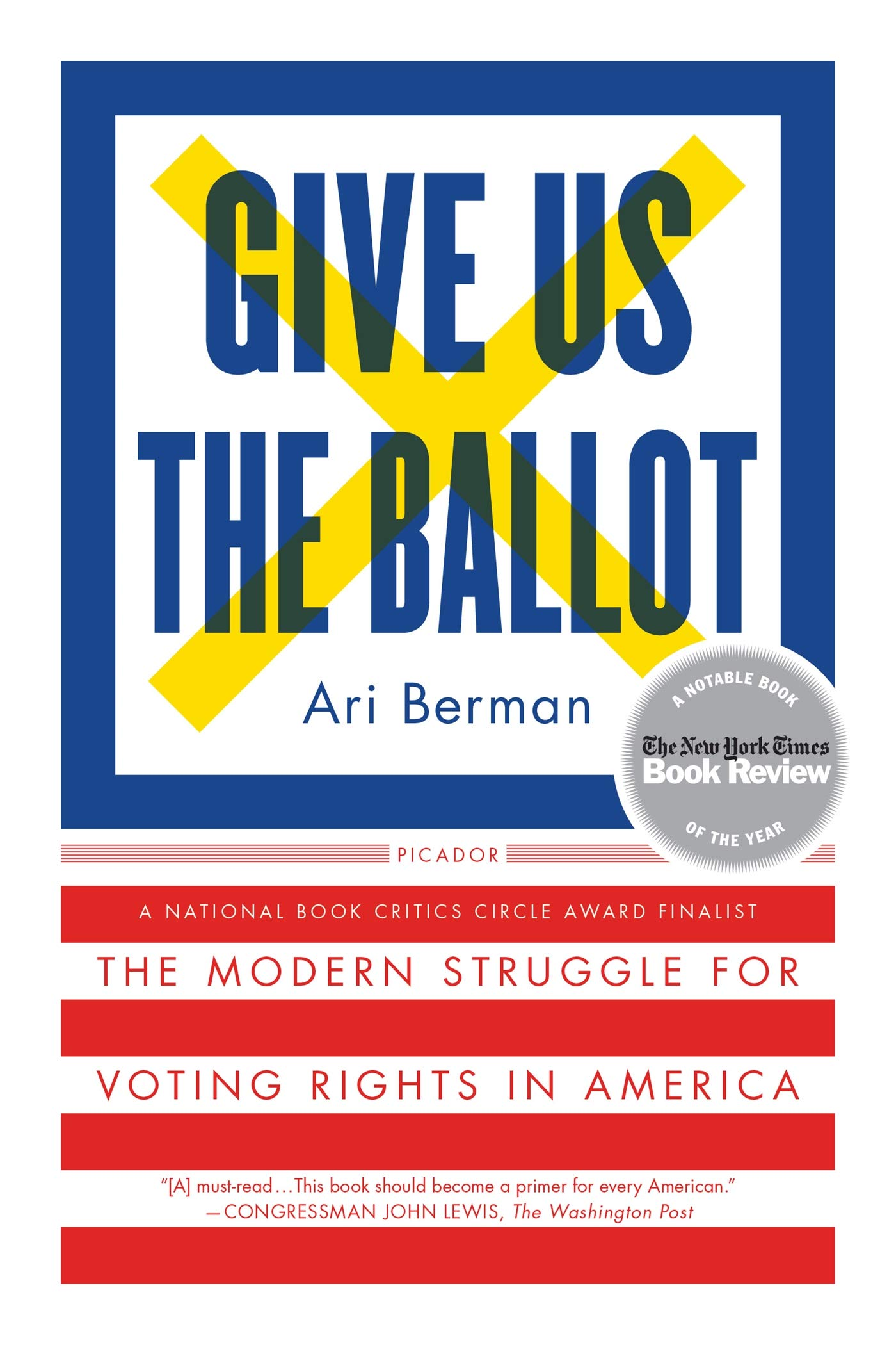 Give us the Ballot with Ari Berman @ Zoom